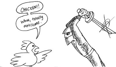 Chickenvsninja