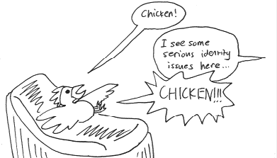 Chicken vs Psychiatrist